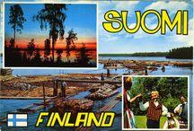 Maisemakortit / Terveisiä Suomesta