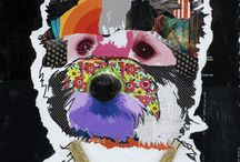 | Dog collage |