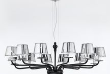 Sylcom Segno Collection glass chandeliers by Topdomus / Design and modern glass chandelier on sale from topdomus. Directly from the glasswork in Italy. / by Topdomus Murano