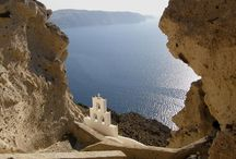 Santorini - Megalochori / Anemolia Villa is part of the traditional community of Megalochori.  Megalochori is one of the most beautiful villages on the island which has managed to maintain its traditional architecture.