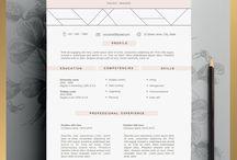 Kreativt CV design