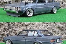 1:24 car model kits