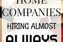 WORK  BFROM HOME JOBS