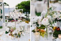 Center Pieces On Table
