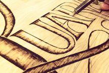 pisanie na drevo