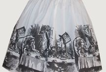 Alice in wonderland skirt