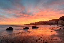 Summer Fun / Beautiful sunsets, balmy waters, salty surf