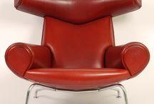 Arkitekttegnede stole / Stole af Danske møbelarkitekter