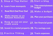 financial goals / Save $ 10000 a year. Such that i can invest it in different properties as a side income