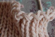 Knit bind-off