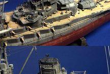 warship models