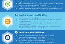 SharePoint / Intranets, soluções de mobilidade e portais, que se adequam aos processos do seu negócio. http://www.hydra.pt/solucoes-a-medida