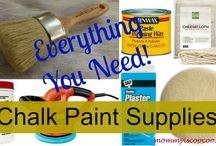 pinturas, tintes, patinas...