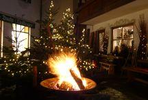 weihnachten bei uns / près du feu