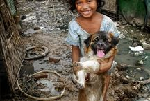 Kids with Animals Around the World