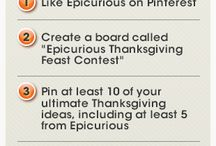 Epicurious Thanksgiving feast contest / by Shoshana Pursley
