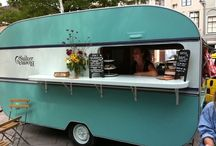 retro truck food
