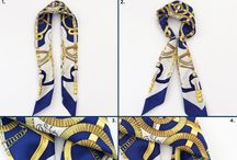 Videos and Images who will Help You Tie a Scarf