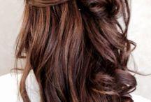 Lang haar donker coiffure award