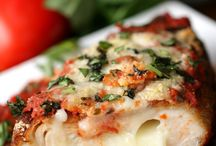 Food / Chicken stuffed mozzarella