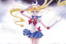 "Sailor Moon artwork / Official and fan art from ""Sailor Moon""."