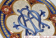 Ecclesiastical Embroidery / Collection of Ecclesiastical / Church Embroidery Inspiration, Resources, Information / by Mary Corbet's Needle 'n Thread