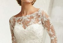 2-Piece Wedding Outfits / Mature brides