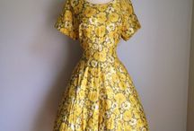 Mad Men Dresses / 1950s 60s dresses inspired by my favorite show Mad Men