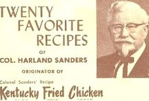 Colonial Harland Sanders recipes