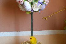 Easter /  Wielkanoc / Table includes Easter decorations handmade by me. I recommend :)  Tablica zawiera dekoracje wielkanocne wykonane własnoręcznie przeze mnie . Polecam  :)