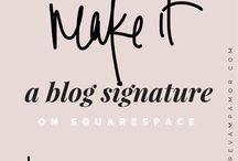 Web Design + Squarespace Hacks