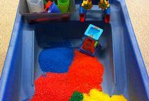Zand-watertafel activiteiten