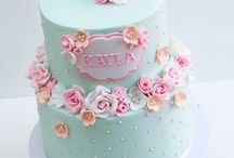 cake bautismo nena