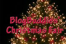 BlogBuddies: Christmas Fair / BlogBuddies enjoy decking the halls, looking for gifts and more for the end of year holidays.