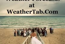 Wedding Weather Forecast / Weather on Your Wedding Day.  Why guess when you can plan?