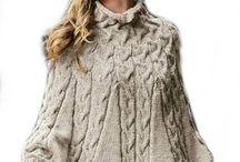 cape adulte tricot
