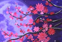 Paint Nite Featured Paintings / Three paintings for each month, chosen by Paint Nite artists across the country.