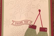 Stampin Up Thank You Cards / We always need thank you cards; and there's no better way than to send heart felt thanks than with a handmade card!  I'm happy to answer any questions you may have about any of these projects. You can email me at amascio@comcast.net. Check out my blog at: www.stampwithanna.blogspot.com Shop with me at: http://www.stampinup.net/esuite/home/annamasciovecchio/