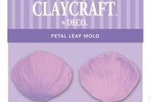 CLAYCRAFT Molds and Veiners / These clay tools will make working with the clay simple and easy.