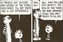 Just for fun - Calvin and Hobbes / by elly0904