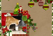 Christmas scrapbooking / by Jennifer Drago