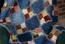 Denim sewing, quilting ideas