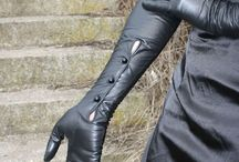 leather glove love
