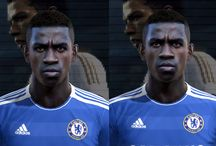 Pro Evolution Soccer faces