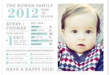 Holiday Letter Inspiration / Find inspiration as you begin to think about your yearly update for family and friends.