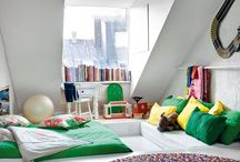 kids spaces / by Veronica Mrt