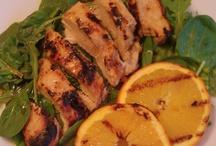 ORANGE foods / by Debbie Sedersten