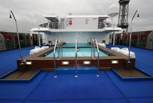 MARINE floor / Deck covering on ships
