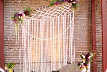 The Hand to Heart Collection ~ Macrame Decor ~ Weddings / The Hand to Heart Collection specialises in gorgeous Macrame Plant Hangers, Wall Hangings and Backdrops for Weddings, Home Decor & styled shoots. Some of these images are my own, some are my inspiration.