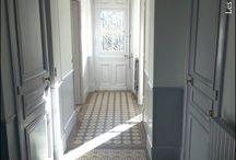 Entrée, vestibule, escaliers